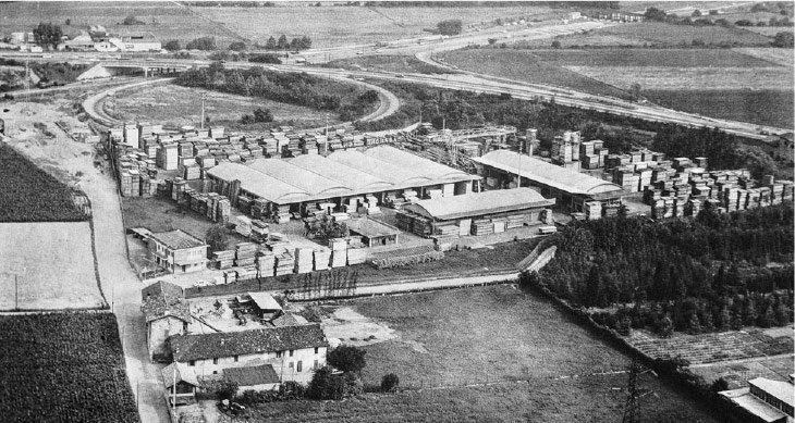 La sede di Bergamo - Legnami Paganoni