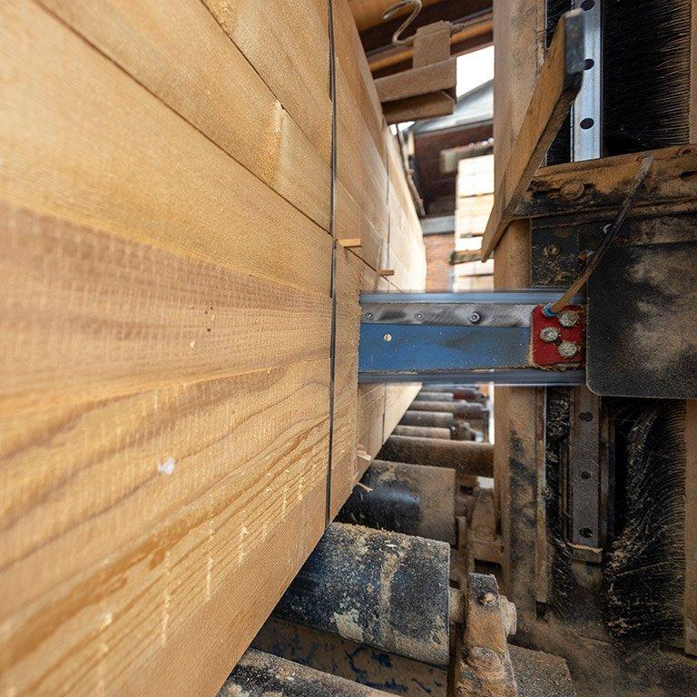Lavorazione legno - Legnami Paganoni